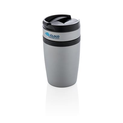 SIERRA - XDXCLUSIVE Leak Proof Vacuum Coffee Tumbler - Silver