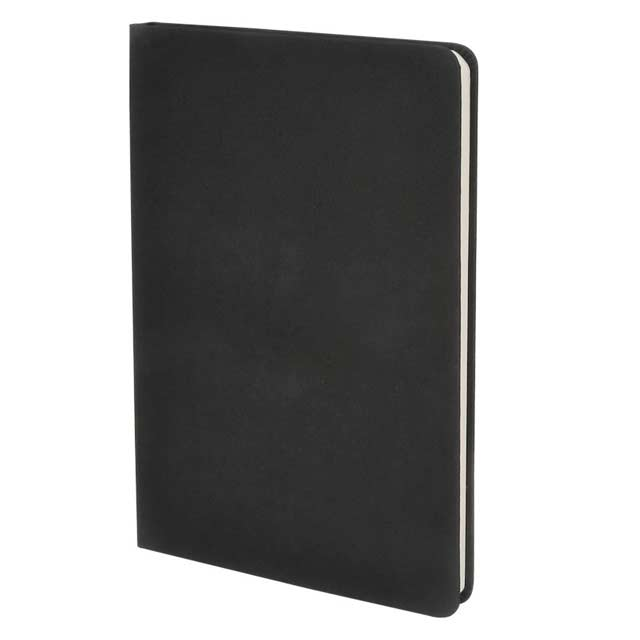 ORSHA - SANTHOME A5 Notebook - Black (Anti-Microbial)