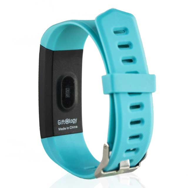 PUCON - Giftology Smart Activity Tracker - Cyan