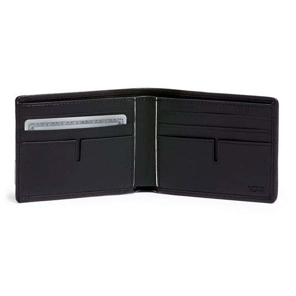 TUMI - Alpha SLG Double Billfold Wallet - Black Chrome
