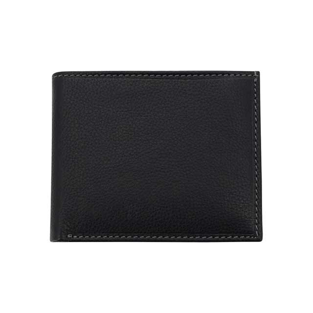 MERIDA - SANTHOME Men's Wallet In Genuine  Leather (Anti-microbial)