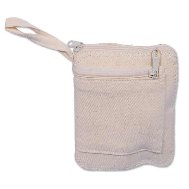 Eco-neutral Cotton Wallet Cum Foldable Shopping Bag