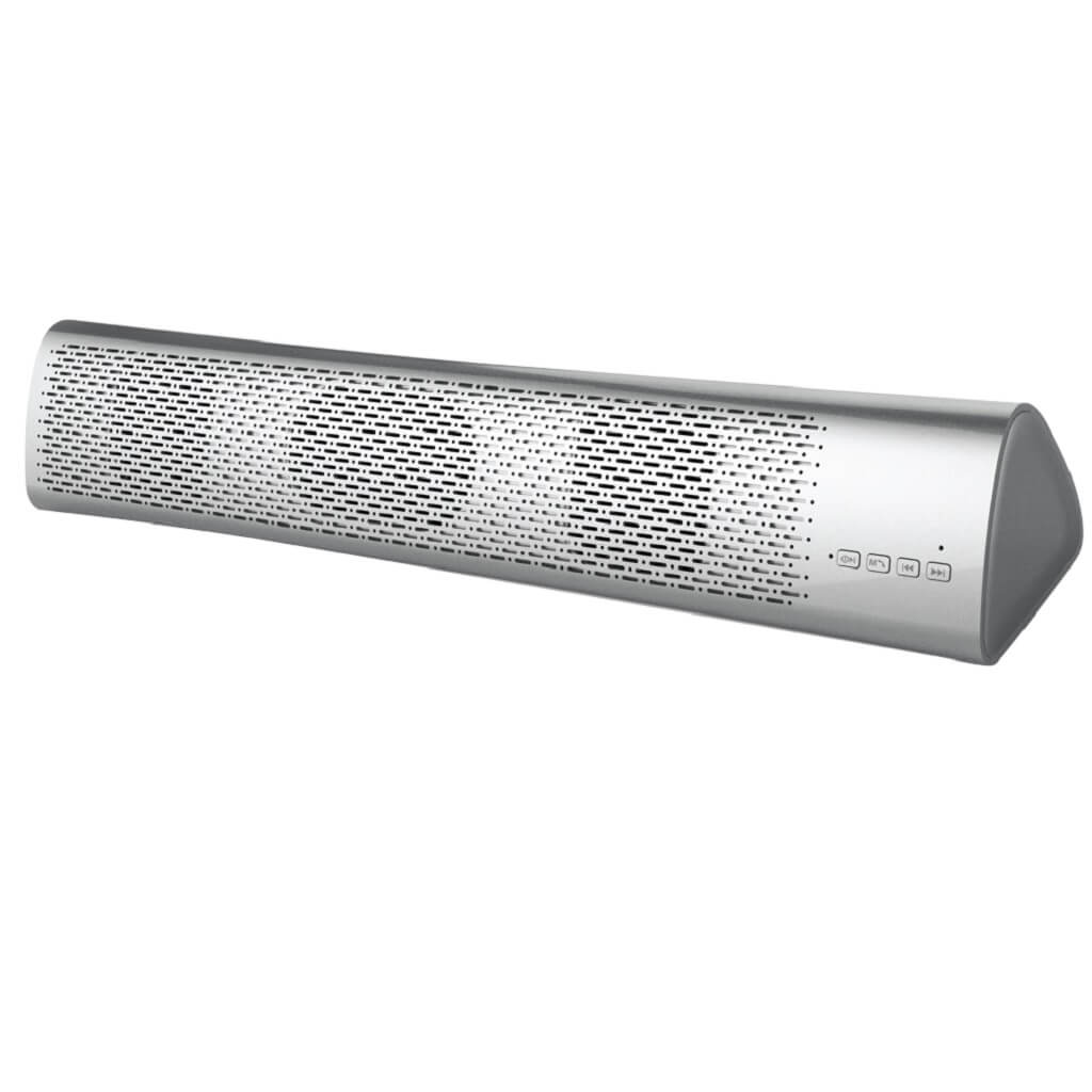 ASTA SOUNDBAR - Giftology 6W Bluetooth Speaker Powerbank - Silver