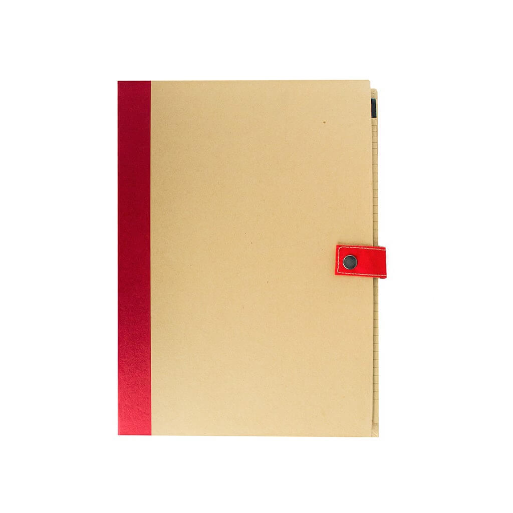 Eco-neutral Sorbus A4 Folder With Pen Red