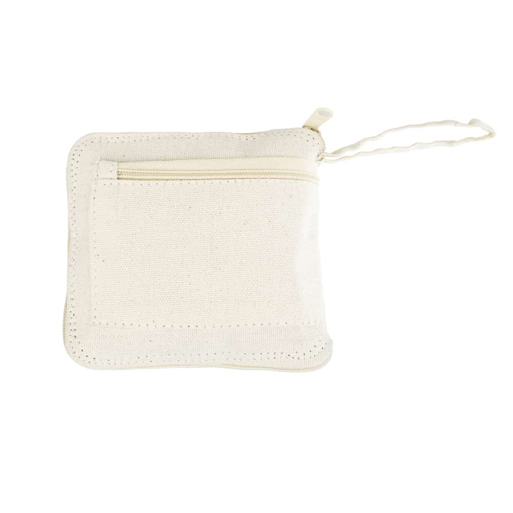 Eco-neutral Foldable Cotton Shopping Bag w/ Wallet