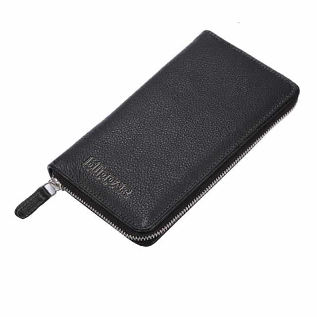 SANTHOME Genuine Leather Travel Wallet