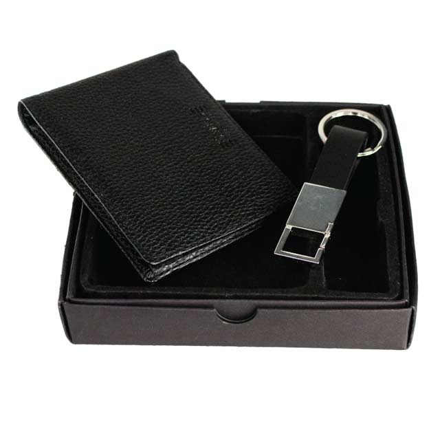 TRIAP - Set of Men's Wallet and Keychain