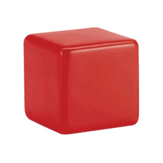 Square Shape Stress Reliever-Red