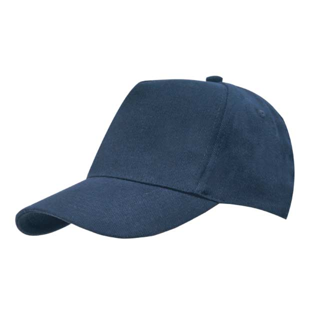 Hans Larsen Cotton Cap N.Blue