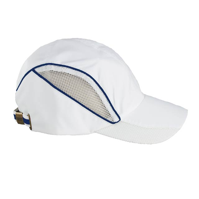 SANTHOME Performance / Sports Cap - White / Royal Blue