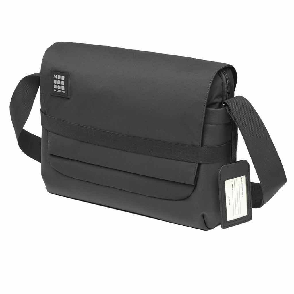 Moleskine ID Messenger Bag - Black