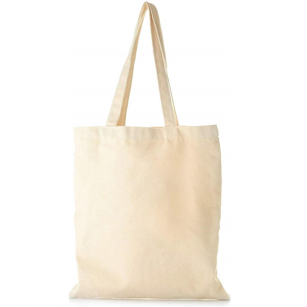 Eco Friendly Cotton Shopping Bags - Natural