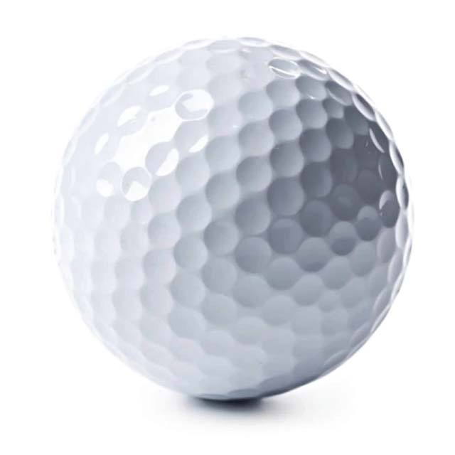 ODDER - 2 Layers White Golf Ball