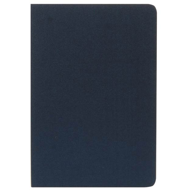 ORSHA - SANTHOME A5 rPET & FSC Certified Notebook - Navy Blue (Anti-Microbial)