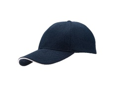 [SC 105 - Navy/White] SANTHOME Performance Sports Caps - Navy Blue / White