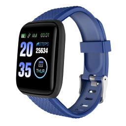 [WNAT 302] WANAKA - Giftology Smart Fitness Tracker - Navy Blue