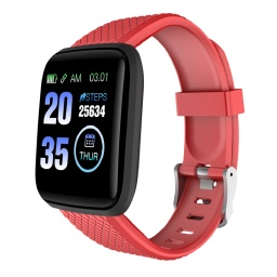 [WNAT 303] WANAKA - Giftology Smart Fitness Tracker - Red