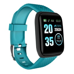 [WNAT 304] WANAKA - Giftology Smart Fitness Tracker - Cyan