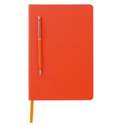 [GSGL 306] CAMPINA - Giftology A5 Hard Cover Notebook with Metal Pen