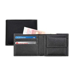 [LASN 652 Bio] CANCUN - SANTHOME Men's Wallet In Genuine Leather (Anti-microbial)