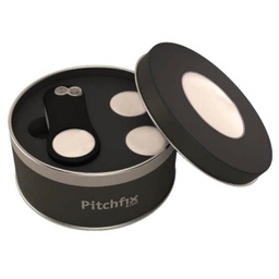 [GAPF 401] DELUXE - Pitchfix Golf Gift Set - Black